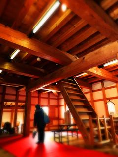 3844鶴ヶ城復元干飯櫓.JPG